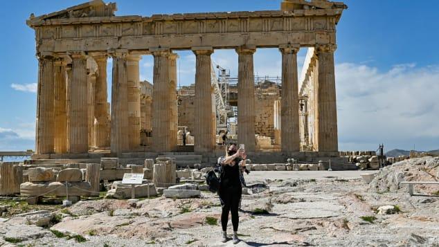 Du lịch Hy Lạp hiến kế vượt qua mùa dịch Covid-19 - Ảnh 1.