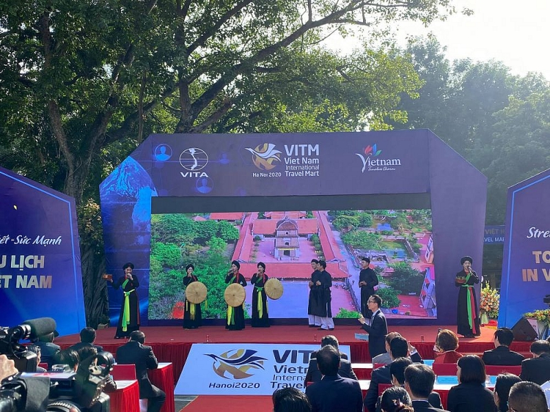 Hội chợ Du lịch quốc tế Việt Nam - Hà Nội (VITM) năm 2021 sẽ được lùi sang tháng 6  - Ảnh 1.