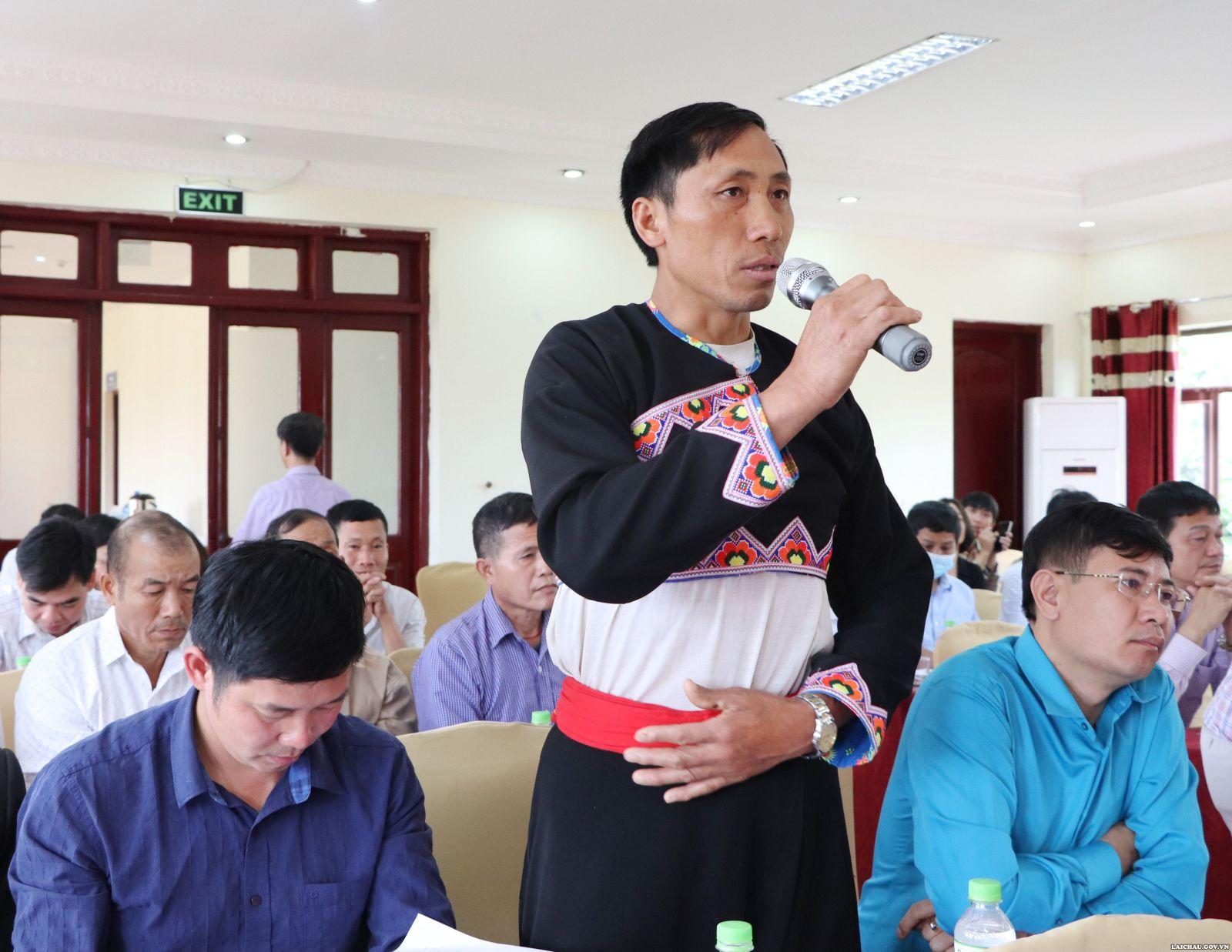 Tọa đàm về một số chính sách hỗ trợ bảo tồn, phát huy bản sắc văn hóa truyền thống tốt đẹp của các dân tộc và khuyến khích phát triển du lịch trên địa bàn tỉnh Lai Châu - Ảnh 3.