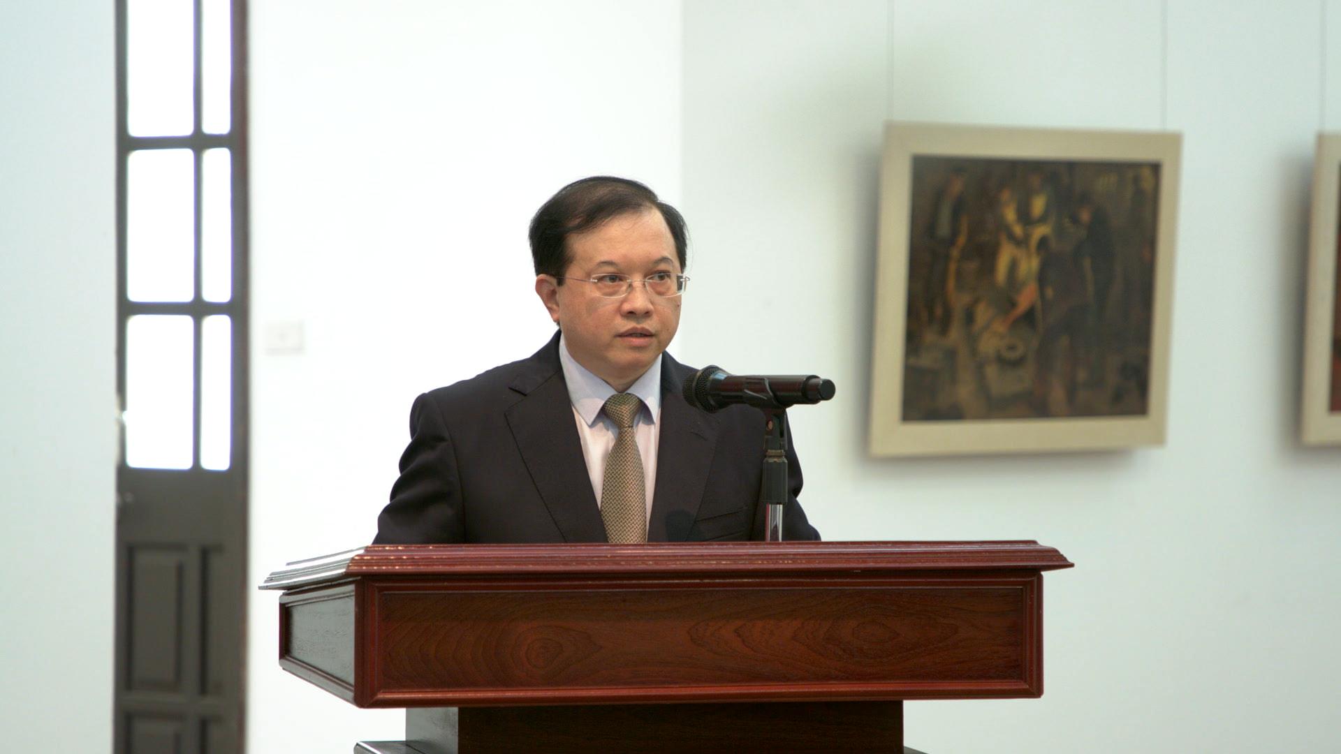 Công bố Quyết định công nhận Hội đồng trường Đại học Mỹ thuật Việt Nam nhiệm kỳ 2021 – 2026 - Ảnh 1.