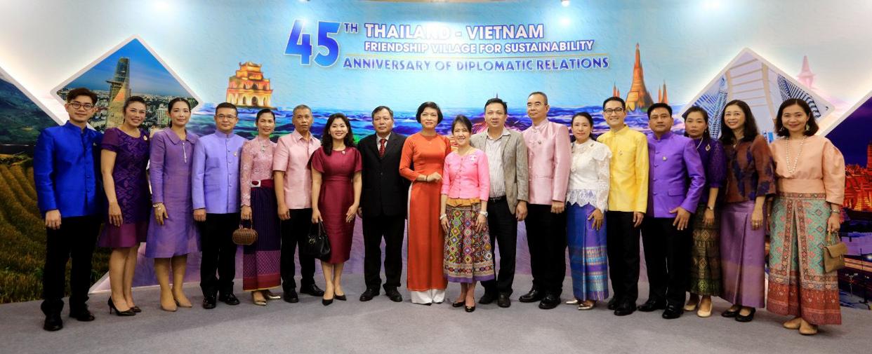 """Khai mạc sự kiện """"Làng Hữu Nghị Thái Lan – Việt Nam – Vì sự phát triển bền vững"""" - Ảnh 7."""