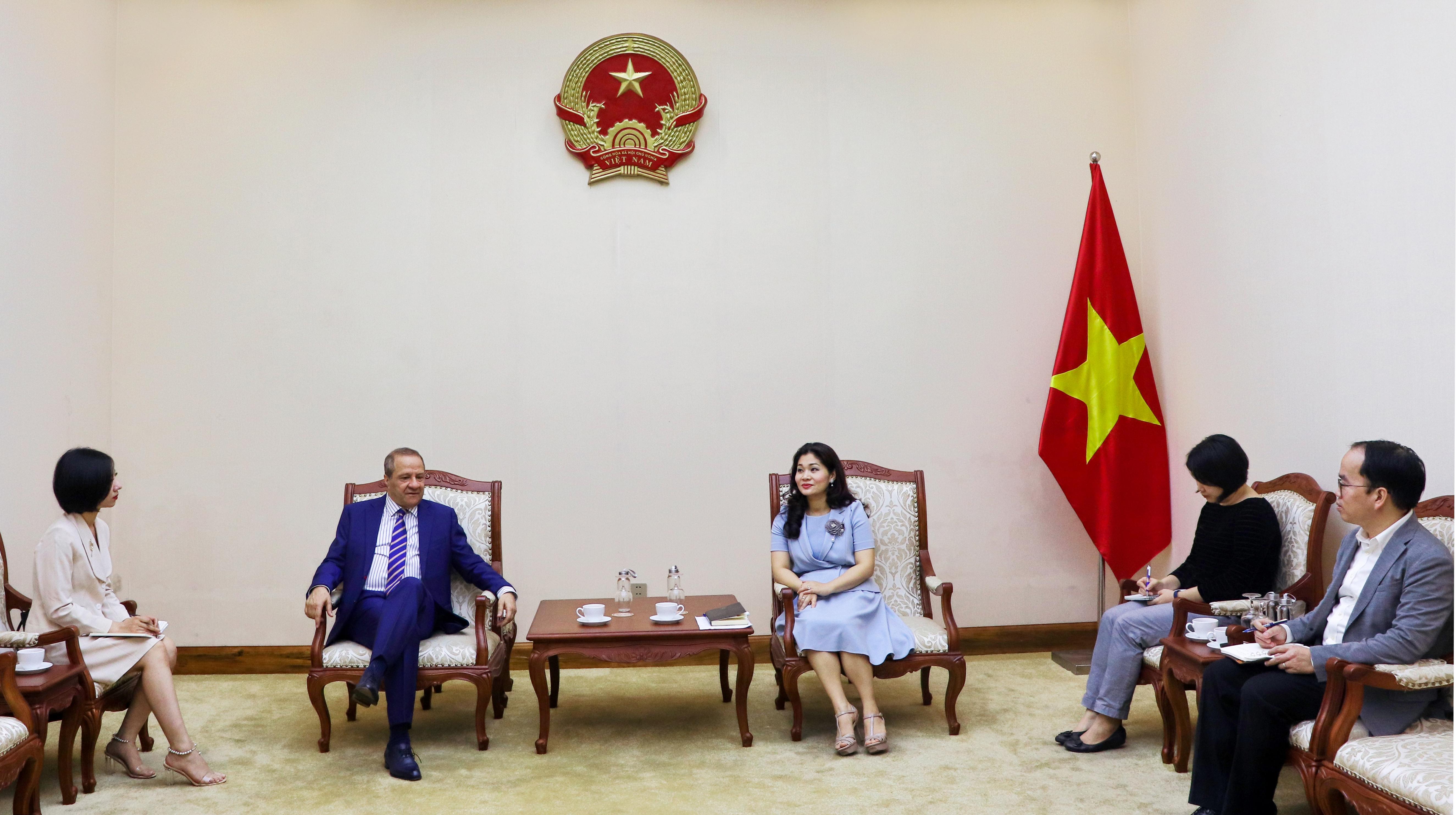 Cục trưởng Nguyễn Phương Hòa tiếp Đại sứ An-giê-ri tại Việt Nam - Ảnh 1.