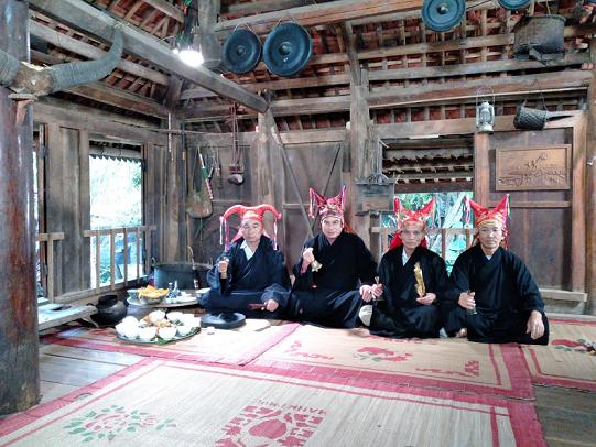 Hòa Bình: Bảo tồn và phát huy giá trị di sản văn hóa Mo Mường, hướng tới trở thành di sản thế giới - Ảnh 1.
