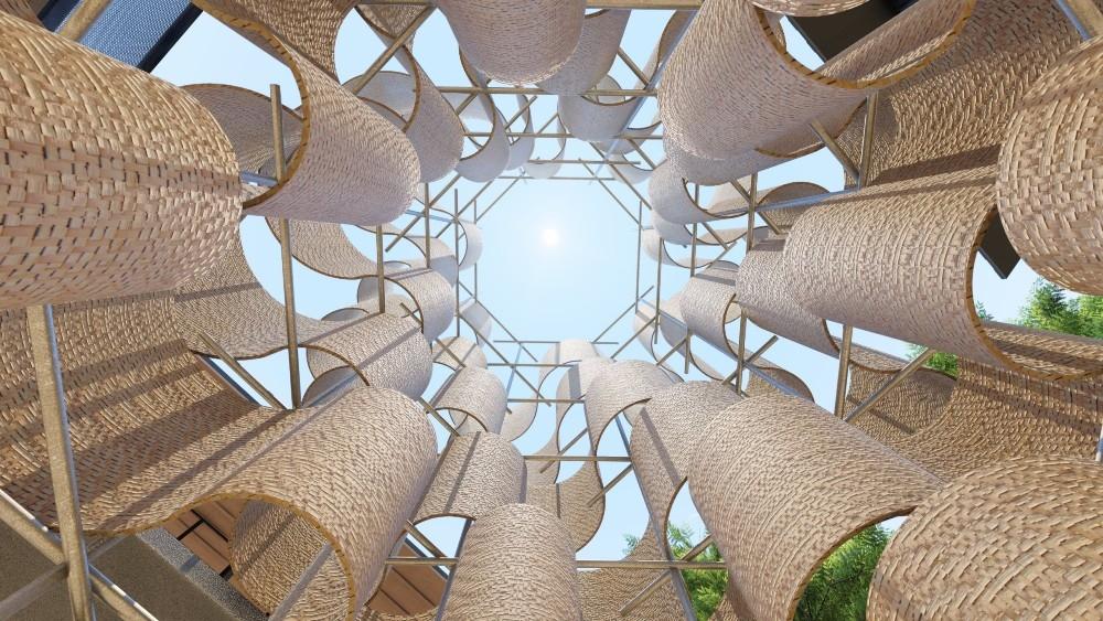 """Kiến trúc và nghệ thuật hòa quyện trong triển lãm """"Lộ"""" - Ảnh 1."""