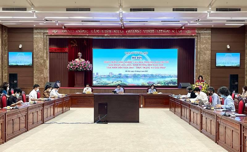 Thúc đẩy phát triển công nghiệp văn hóa trên địa bàn Hà Nội - Ảnh 1.