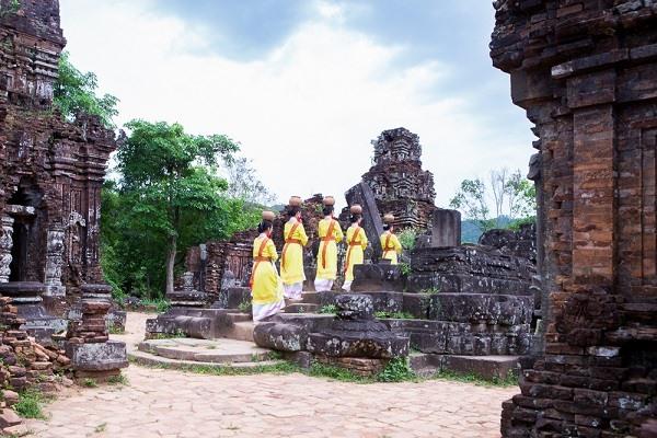 Quảng Nam: Phát huy vai trò của cộng đồng trong công tác quản lý, bảo tồn di sản Mỹ Sơn - Ảnh 1.