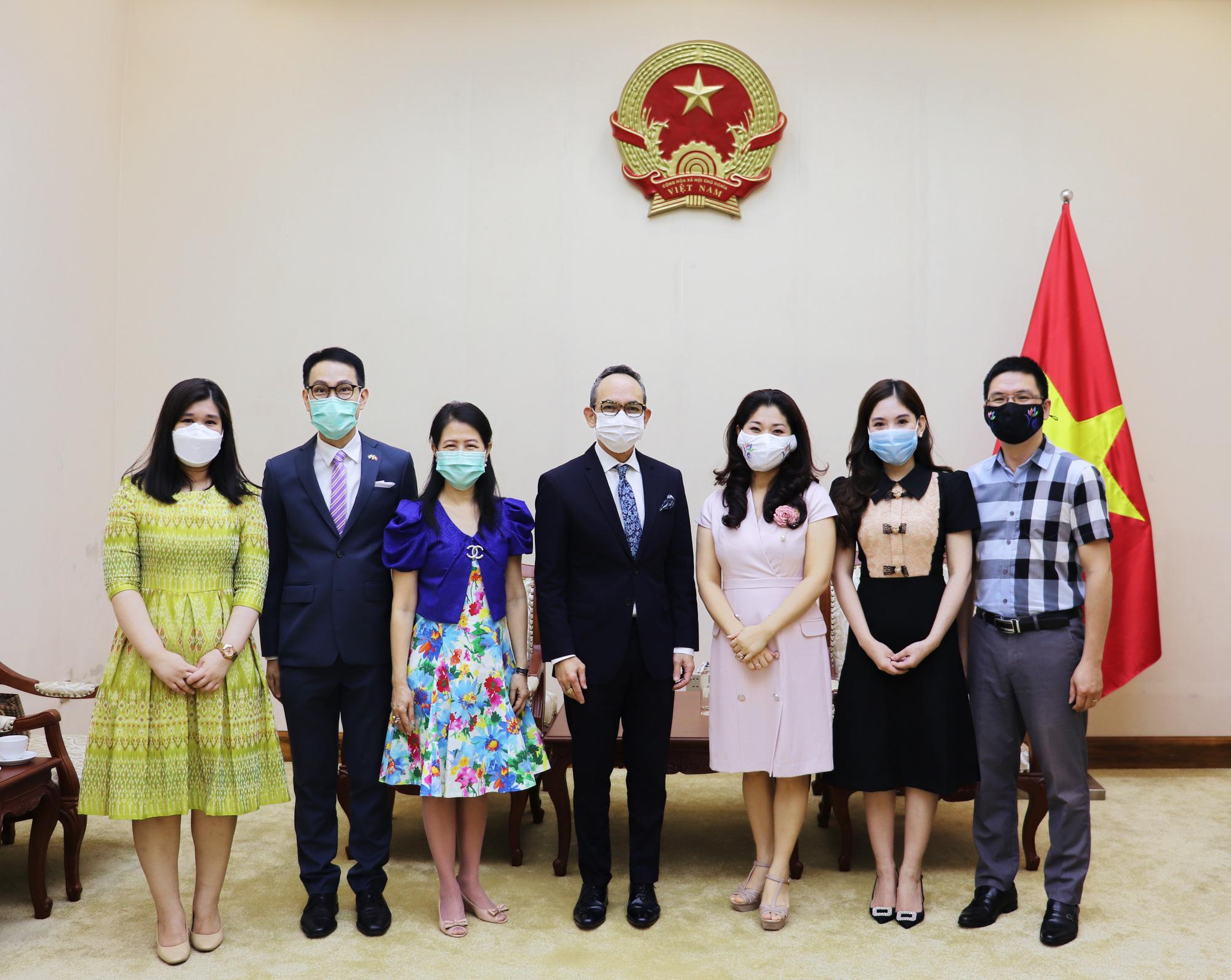 Tổ chức các hoạt động văn hóa kỷ niệm 45 năm quan hệ ngoại giao Việt Nam-Thái Lan - Ảnh 3.