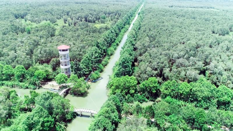 Hậu Giang xây dựng 4 tuyến du lịch nội khu Lung Ngọc Hoàng - Ảnh 1.