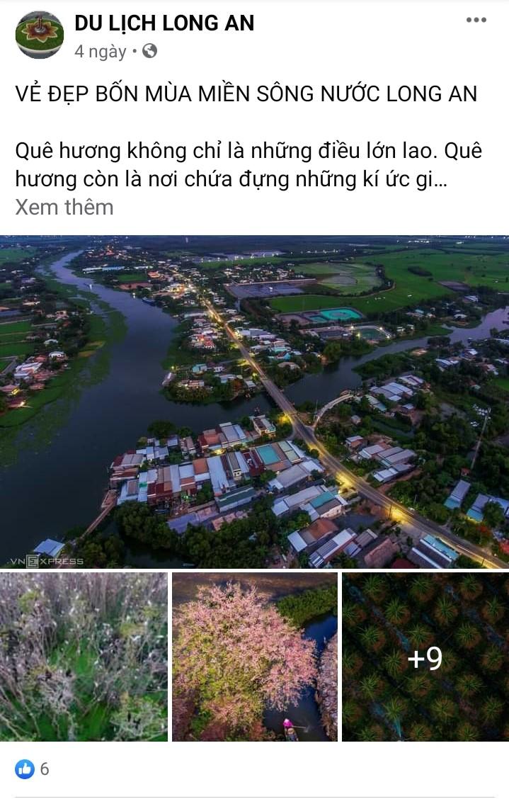 Long An: Quảng bá du lịch trong mùa dịch - Ảnh 2.