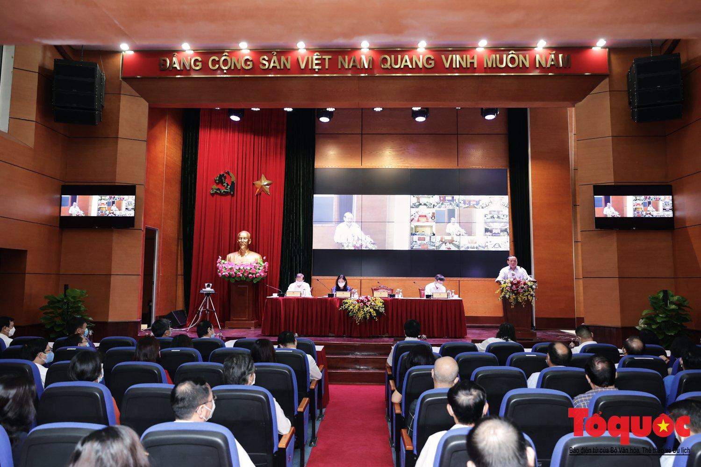 """Bộ trưởng Nguyễn Văn Hùng: Ngành TDTT cần tập trung """"1 trọng tâm, 3 đề án và 2 đột phá"""" trong năm 2021 - Ảnh 1."""