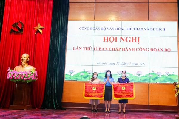 Hội nghị lần thứ 12 Ban Chấp hành Công đoàn Bộ VHTTDL - Ảnh 6.