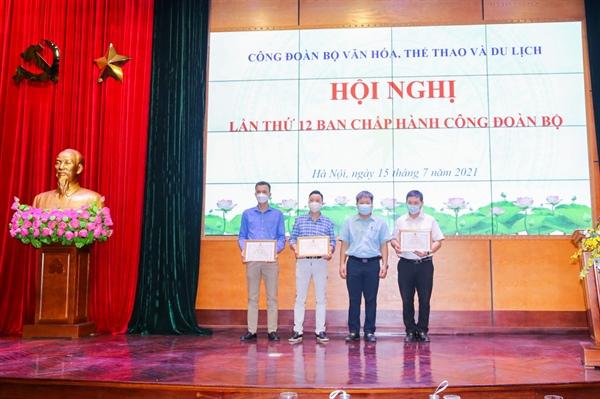 Hội nghị lần thứ 12 Ban Chấp hành Công đoàn Bộ VHTTDL - Ảnh 7.