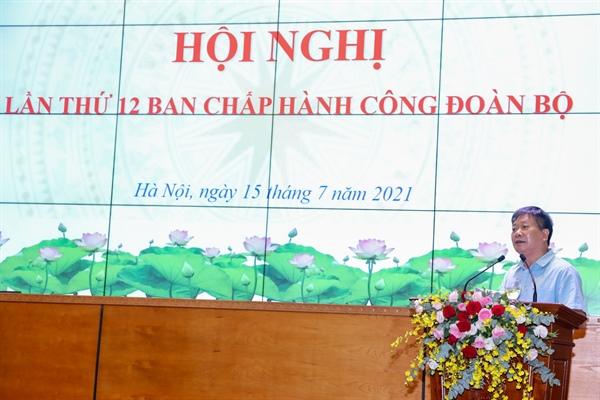 Hội nghị lần thứ 12 Ban Chấp hành Công đoàn Bộ VHTTDL - Ảnh 3.