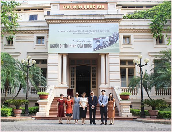 Đại sứ nước Cộng hòa Chile thăm, làm việc tại Thư viện Quốc gia Việt Nam  - Ảnh 5.