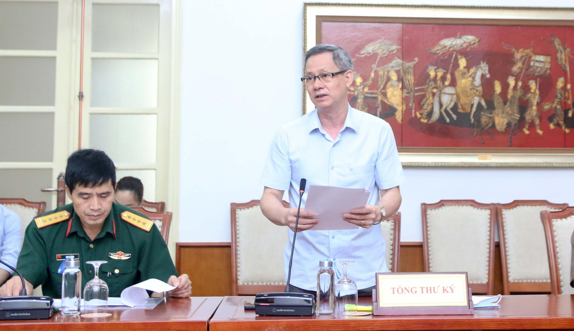 Ủy ban Olympic Việt Nam tích cực chuẩn bị cho Đại hội đại biểu khóa VI - Ảnh 2.