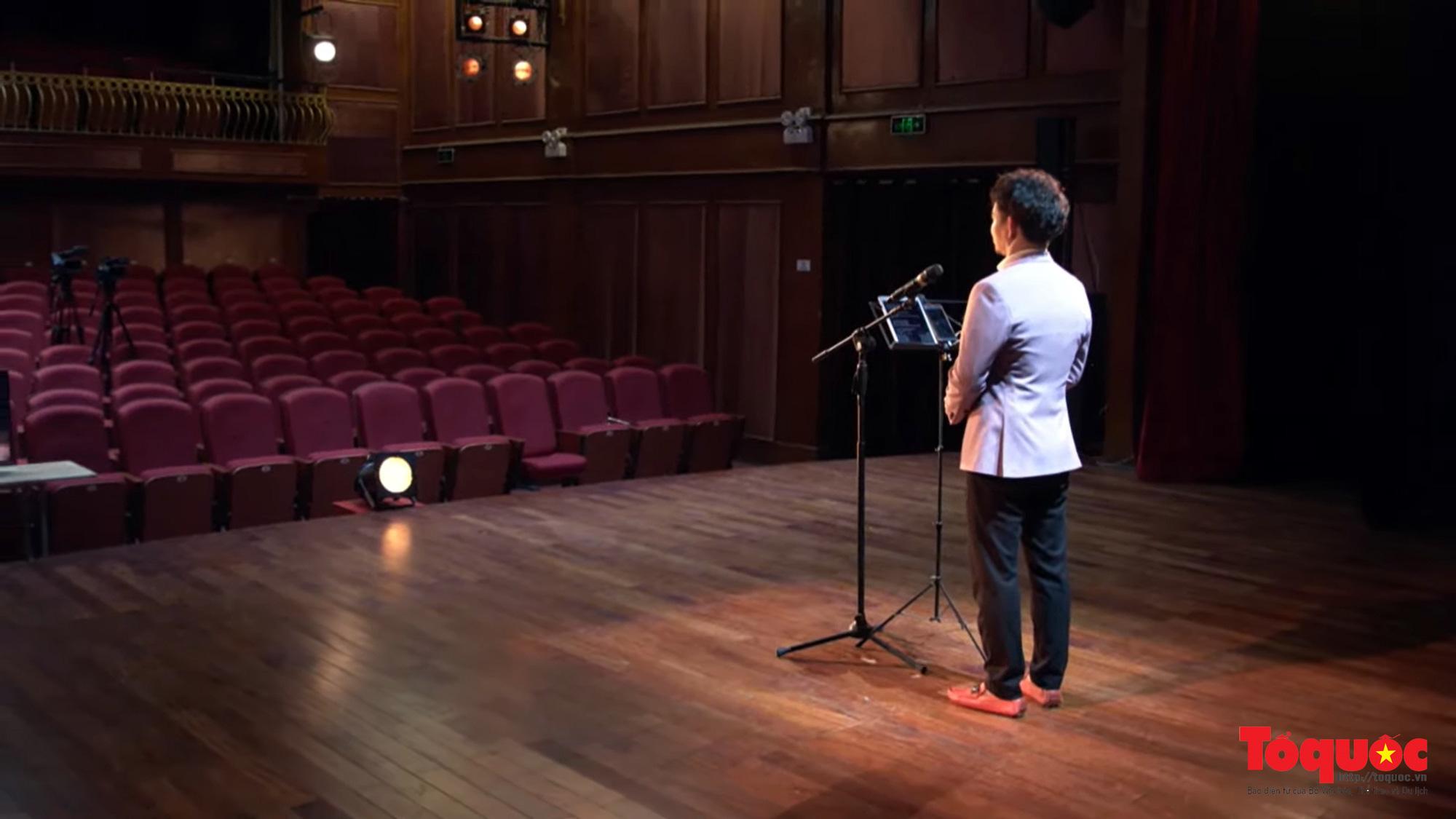 Chương trình nghệ thuật đặc biệt không khán giả được livestream giữa mùa dịch tại 5 điểm cầu Hà Nội - Ảnh 3.