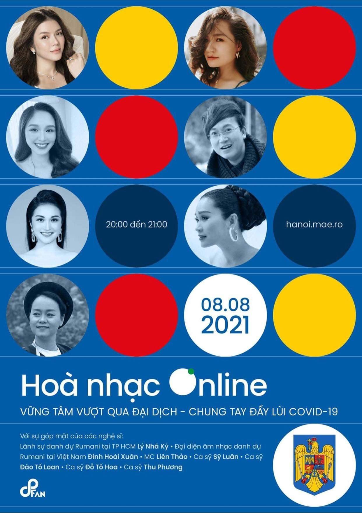 Đại sứ Rumani tổ chức hòa nhạc online cổ vũ Việt Nam chống dịch - Ảnh 2.