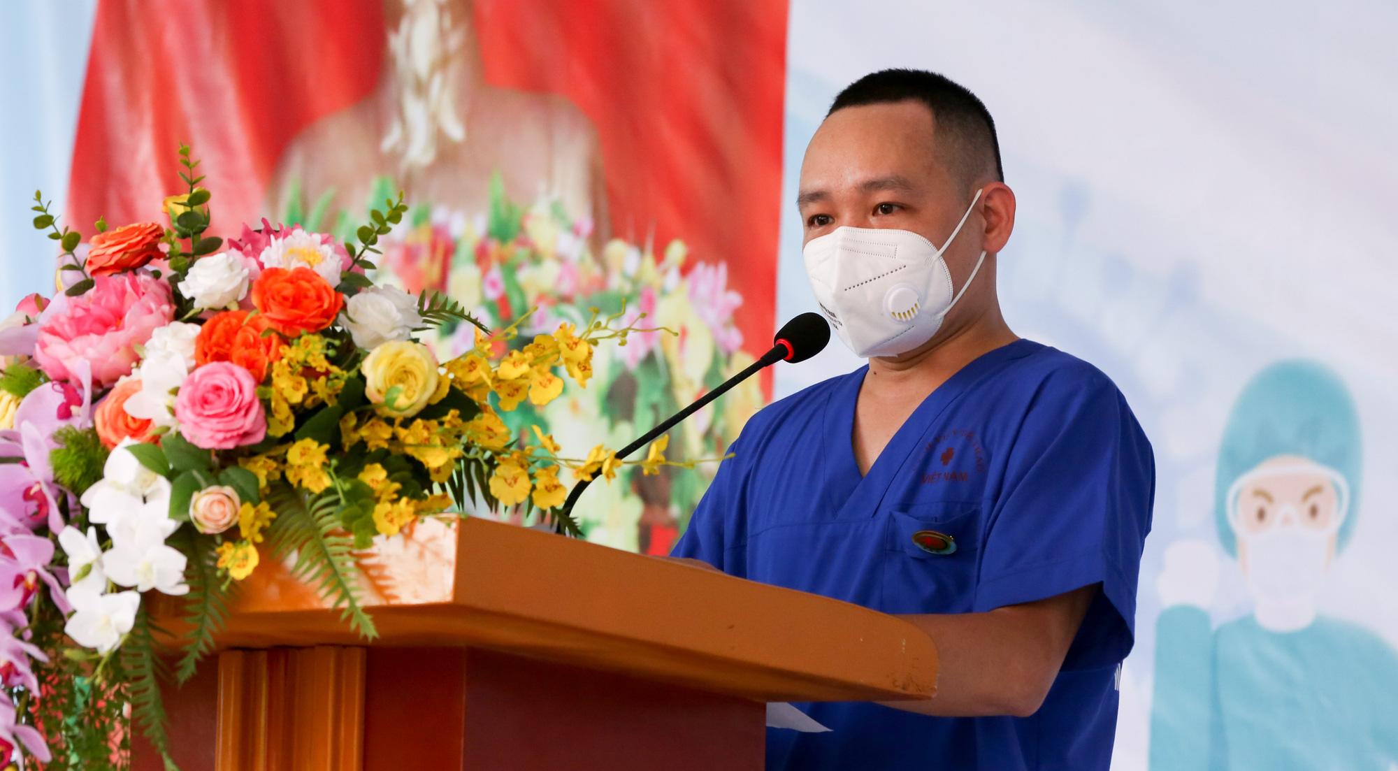 Bệnh viên Thể thao Việt Nam xuất quân tăng cường lực lượng vào miền Nam chống dịch - Ảnh 11.