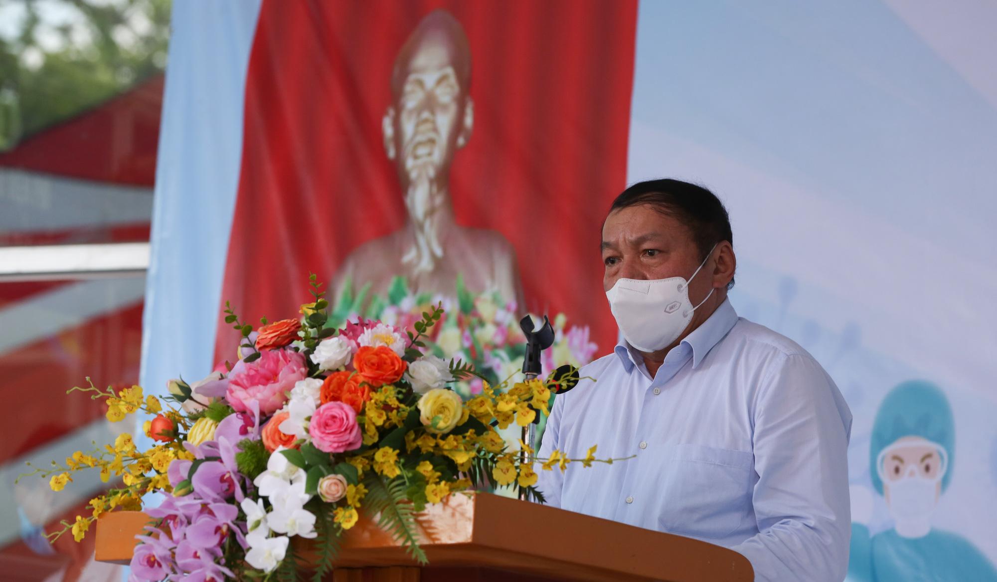 Bệnh viên Thể thao Việt Nam xuất quân tăng cường lực lượng vào miền Nam chống dịch - Ảnh 4.