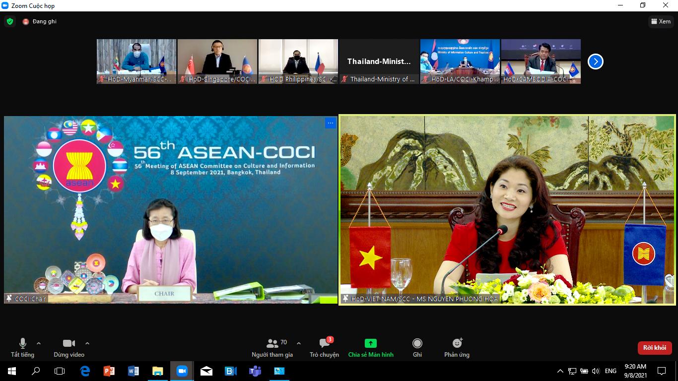 Đẩy mạnh hợp tác văn hóa và thông tin vì sự phát triển bền vững của ASEAN - Ảnh 2.