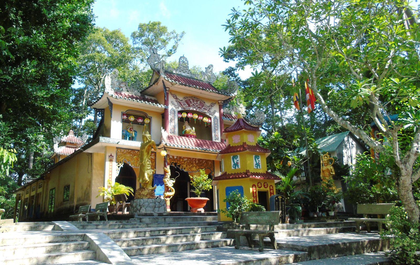 Hình minh họa: Di tích Gò Chùa Cao Sơn, ở ấp xóm Mía, xã Phước Trạch, huyện Gò Dầu, Tây Ninh: Nguồn báo Tây Ninh