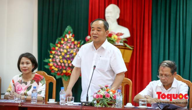 Hình ảnh: Thứ trưởng Lê Khánh Hải làm việc với Sở VHTTDL Bắc Kạn về công tác cải cách hành chính số 1