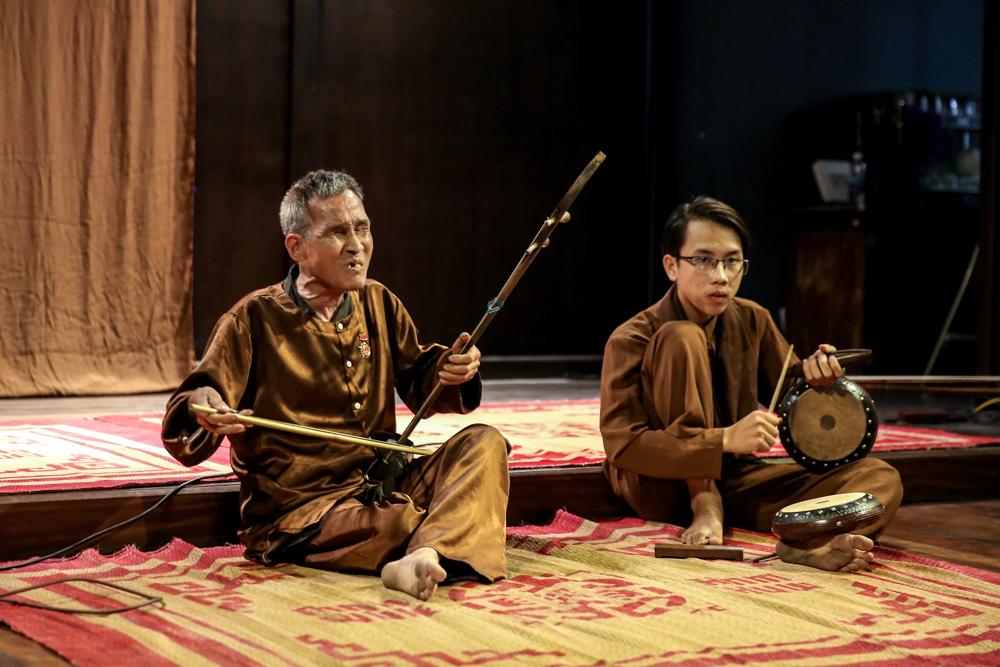 Tái hiện lịch sử hát Xẩm qua chương trình