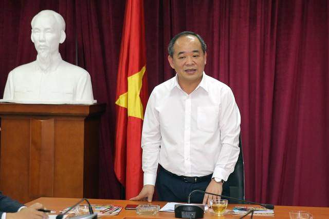 Thứ trưởng Lê Khánh Hải làm việc với Trung tâm Công nghệ Thông tin, Báo điện tử Tổ Quốc - Ảnh 2.