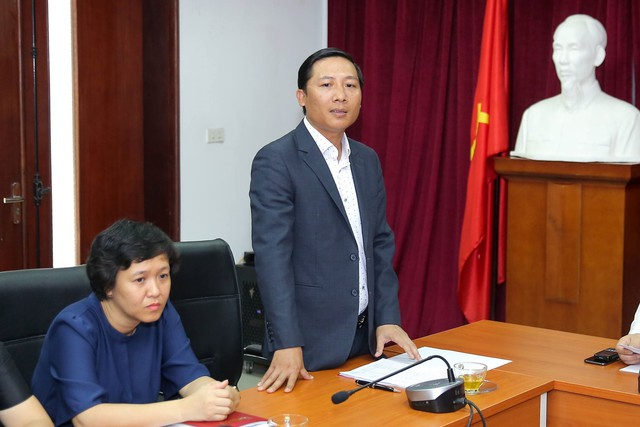 Thứ trưởng Lê Khánh Hải làm việc với Trung tâm Công nghệ Thông tin, Báo điện tử Tổ Quốc - Ảnh 3.