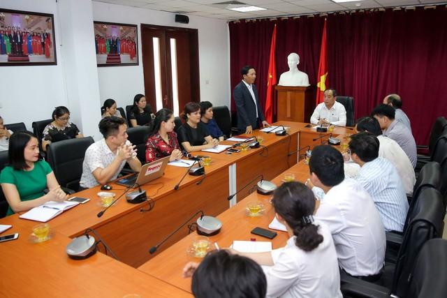 Thứ trưởng Lê Khánh Hải làm việc với Trung tâm Công nghệ Thông tin, Báo điện tử Tổ Quốc - Ảnh 4.