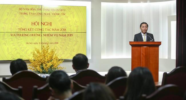 """Thứ trưởng Lê Khánh Hải: """"Trung tâm Công nghệ thông tin đã dần khẳng định được thương hiệu"""" - Ảnh 1."""
