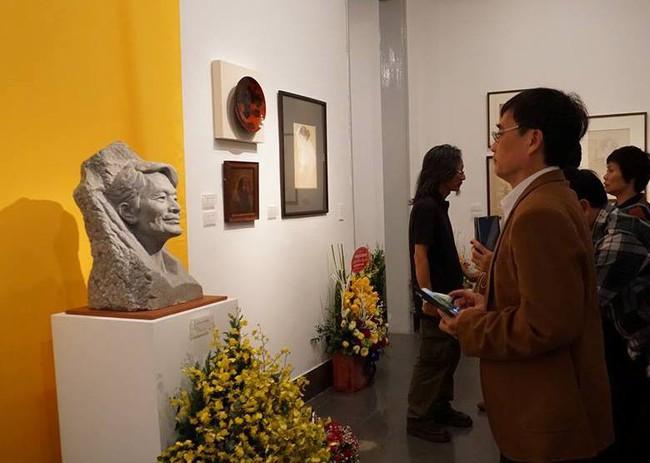 Triển lãm kỷ niệm 100 năm ngày sinh họa sĩ Nguyễn Sỹ Ngọc - Ảnh 1.