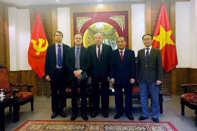 Thứ trưởng Lê Khánh Hải tiếp đặc phái viên của Tổng thống Liên bang Nga - Ảnh 2.