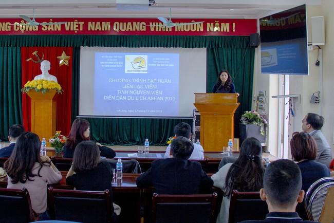 Ban Tổ chức ATF 2019 triển khai Chương trình tập huấn Liên lạc viên/tình nguyện viên phục vụ Diễn đàn Du lịch ASEAN 2019 - Ảnh 1.
