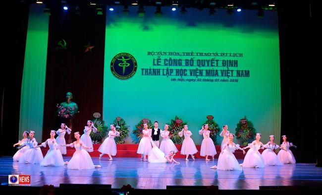 Lễ công bố quyết định thành lập Học viện Múa Việt Nam - Ảnh 3.