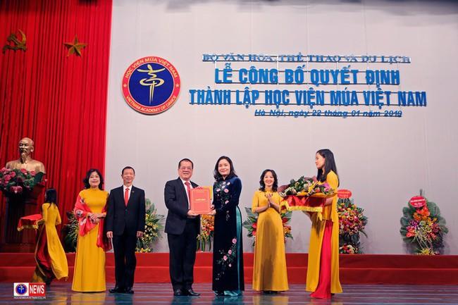 Lễ công bố quyết định thành lập Học viện Múa Việt Nam - Ảnh 1.