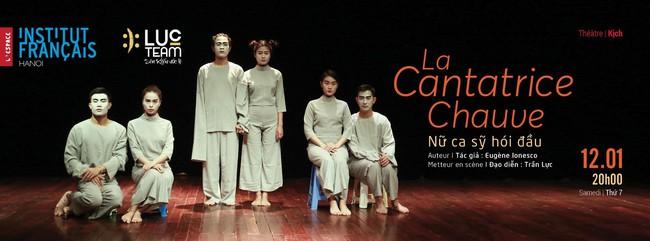 Nữ ca sỹ hói đầu- vở kịch gây sốt tại Pháp lần đầu tiên ra mắt khán giả Hà Nội  - Ảnh 1.