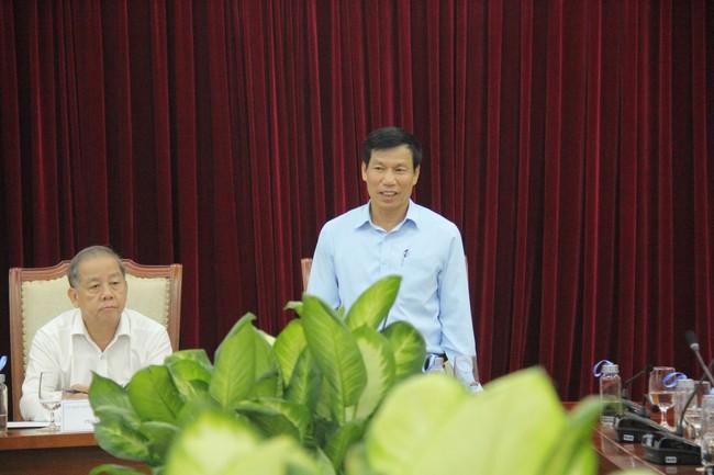 Bộ trưởng Nguyễn Ngọc Thiện làm việc với lãnh đạo tỉnh Thừa Thiên Huế - Ảnh 2.