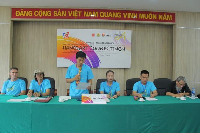 24 quốc gia tham gia sự kiện Hà Nội kết nối nghệ thuật - Hanoi Art Connecting 4th – 2019 - Ảnh 1.