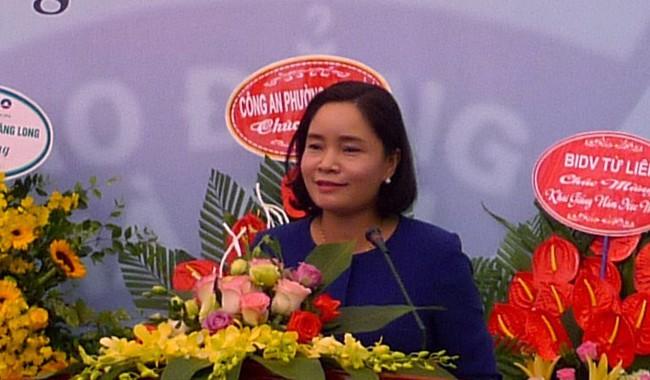 Thứ trưởng Trịnh Thị Thủy dự khai giảng năm học mới 2019 - 2020 của Trường Cao đẳng Du lịch Hà Nội  - Ảnh 2.