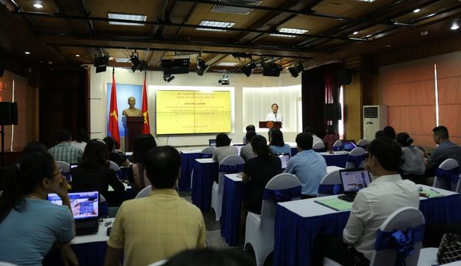 Khai giảng lớp bồi dưỡng về Chính phủ điện tử, làm việc trên môi trường mạng - Ảnh 1.