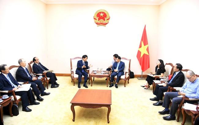 Bộ trưởng Nguyễn Ngọc Thiện tiếp đoàn đại biểu cao cấp của tình Kagoshima (Nhật Bản)  - Ảnh 1.