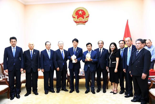Bộ trưởng Nguyễn Ngọc Thiện tiếp đoàn đại biểu cao cấp của tình Kagoshima (Nhật Bản)  - Ảnh 2.