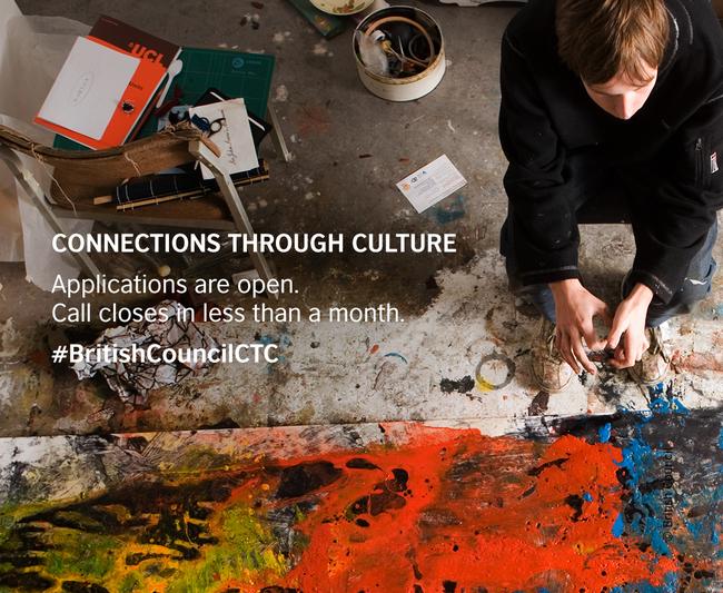 Khởi động vòng hai chương trình tài trợ nghệ thuật Kết nối thông qua Văn hoá - Ảnh 1.
