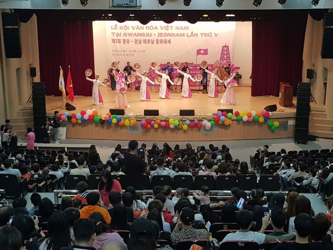 Ấn tượng những nét văn hóa đầy sức cuốn hút của Việt Nam tại Hàn Quốc - Ảnh 3.