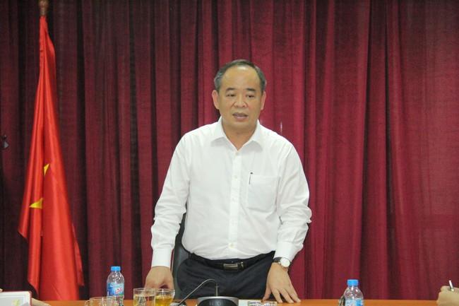 Thứ trưởng Lê Khánh Hải làm việc với Trung tâm Công nghệ thông tin - Ảnh 1.