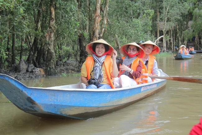 Ðồng bằng sông Cửu Long phấn đấu đón 6,5 triệu khách quốc tế vào năm 2030 - Ảnh 1.