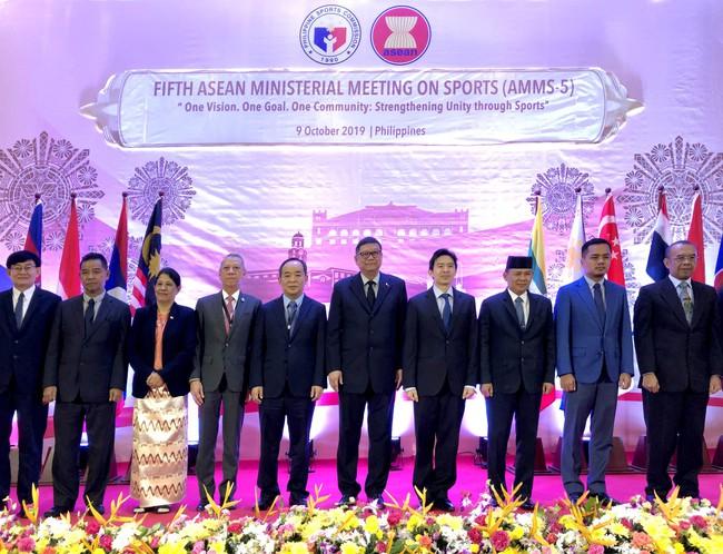 Hội nghị Bộ trưởng Thể thao ASEAN lần thứ 5  - Ảnh 1.
