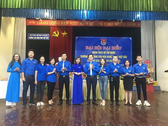 Đại hội đại biểu Đoàn TNCS Hồ Chí Minh trường CĐ Văn hóa Nghệ thuật Việt Bắc lần thứ XXV, nhiệm kỳ 2019 - 2022 - Ảnh 2.