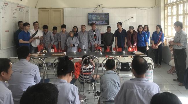 Chương trình thiện nguyện tại Trung tâm bảo trợ xã hội I, Hà Nội - Ảnh 1.